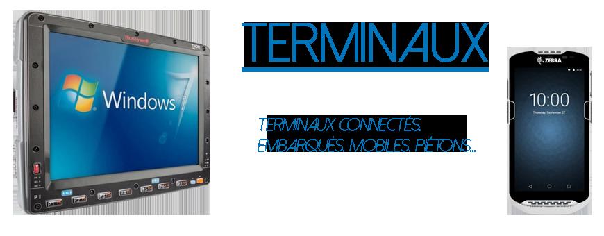 Terminaux | embarqués, piétons, mobiles, tablettes